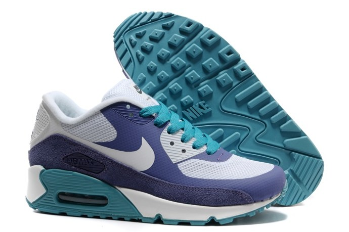 pas cher Sale Air Max 90 Hyperfuse Homme Chaussure Fur en ligne Shopping blanc Purple