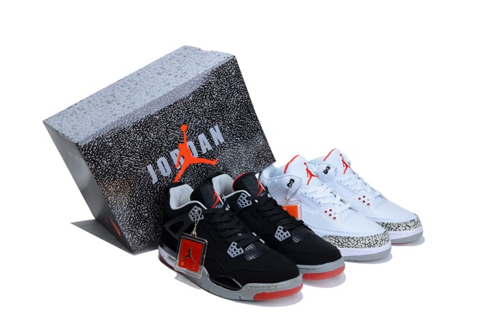 Discount Air Jordan J3 And J4 Limited Homme Chaussure en ligne