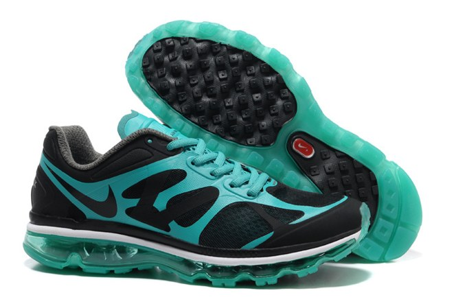 Discount Outlet Air Max 2012 Homme Chaussure Breathable For Sale Bleu Noir