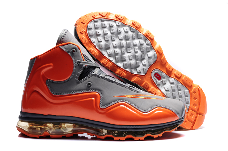 Discout Nike Air Max Flyposite Homme Chaussure Orange Grey