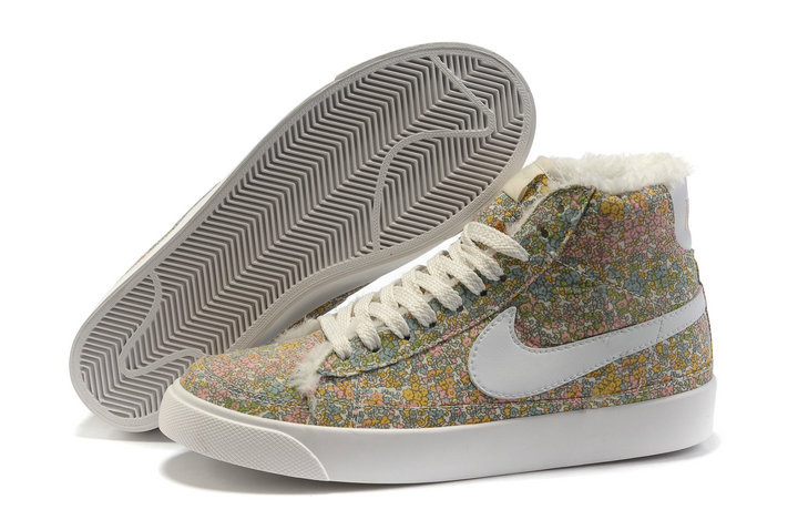 Femme Nike Blazer Haut Top Camellia Blanc gray Chaussure