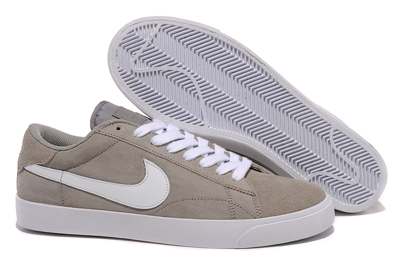 Homme Nike Classic Ac ND Blanc gray Chaussure