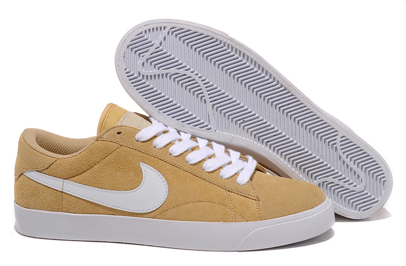 Homme Nike Classic Ac ND Suede Brun Chaussure