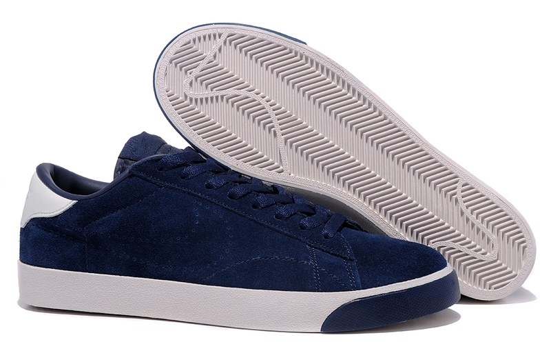 Homme Nike Classic Ac ND Suede Sombre Bleu Chaussure