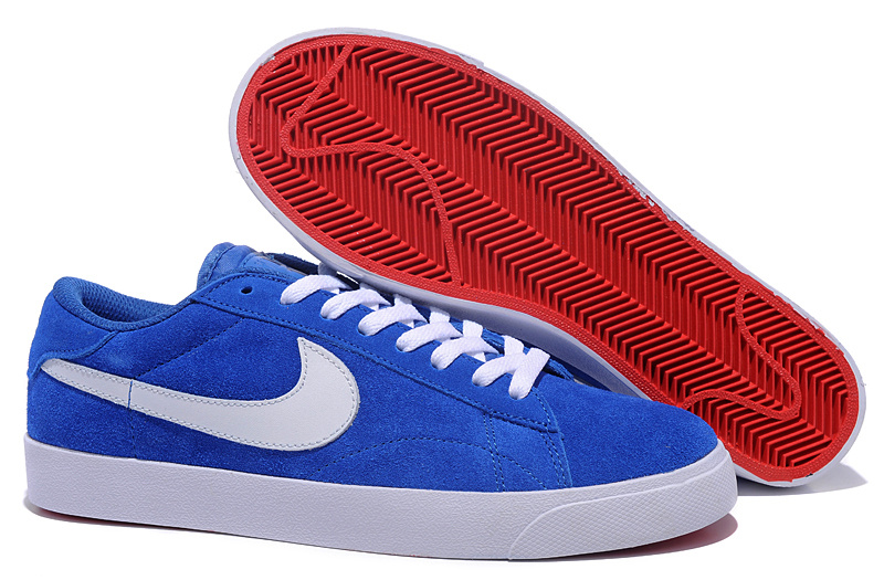 Homme Nike Suede Classic Ac ND Royal Bleu Chaussure