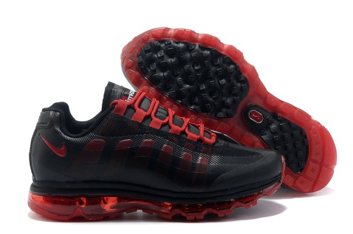 Hot Sell Nike Air Max 95 360 Homme Chaussure Noir Red