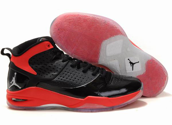 Jordan Fly Wade Dwyane Tyrone Autograph Chaussures Basketball Noir/Rouge