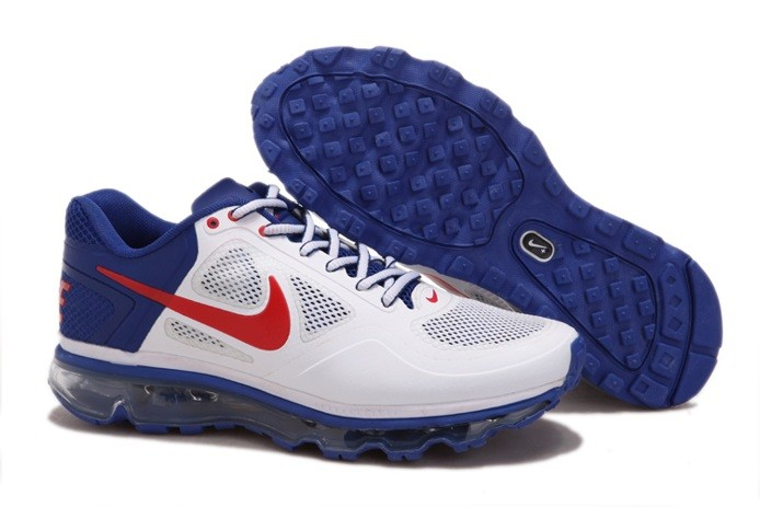 Latest Design Air Max 2013 Trainer 1.3 Homme Chaussure blanc Bleu Red