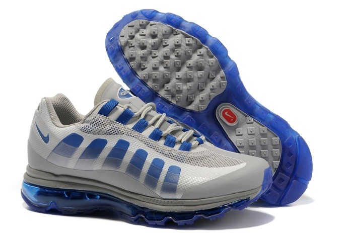 Latest Design Nike Air Max 95 360 Homme Chaussure Grey Bleu