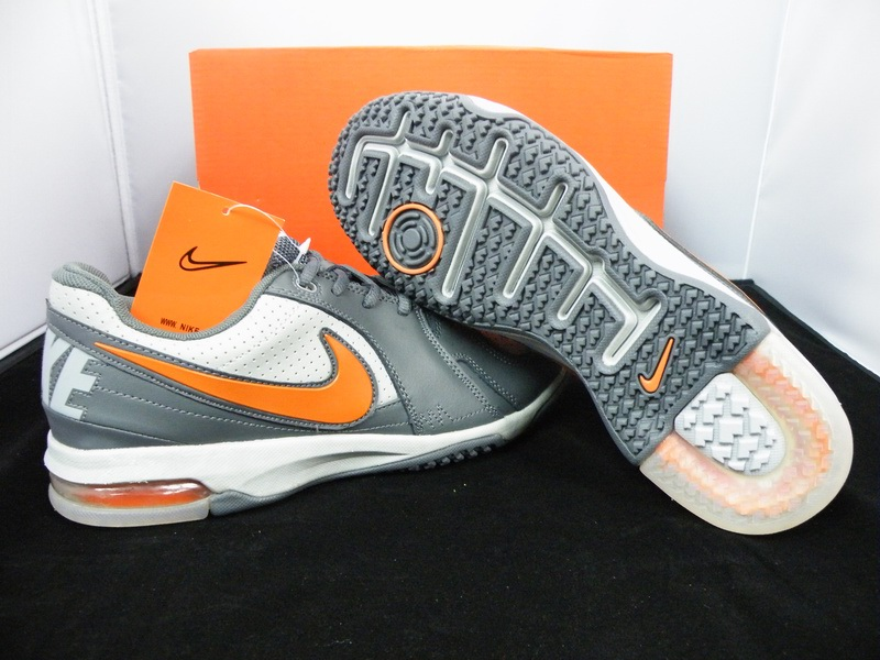 Hommes Nike Free Run Blanc gray Orange