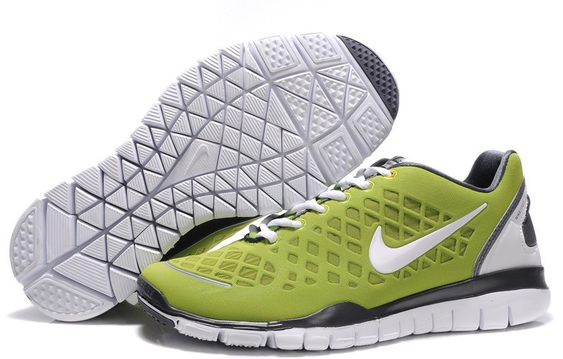 Hommes Nike Free TR Fit vert gray