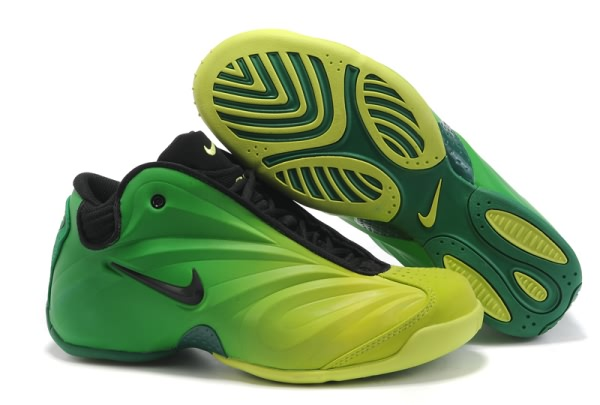 Nike Air Flightposite fluorescence verte Chaussures