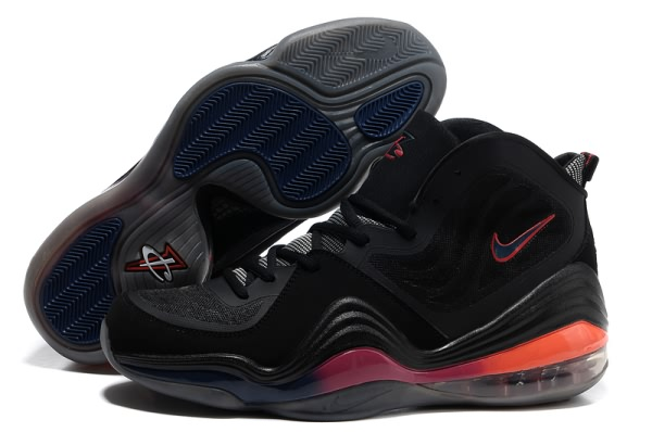 Chaussures de basket Nike Air Foamposite One V Noir/Rouge