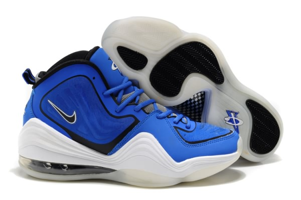 Chaussures de basket Nike Air Foamposite One V Bleu/Blanc
