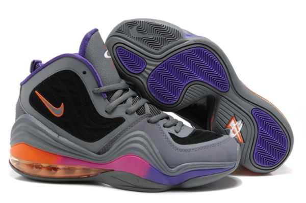 Chaussures de Basket-ball Nike Air Foamposite One V gray/Noir