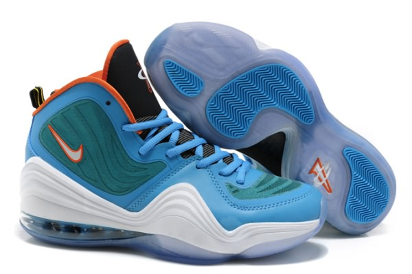 Chaussures de basket Nike Air Foamposite One V Moon/blanc/orange