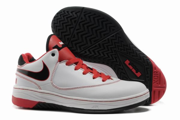 Nike Air Lebron EE Chaussures Blanc/Rouge