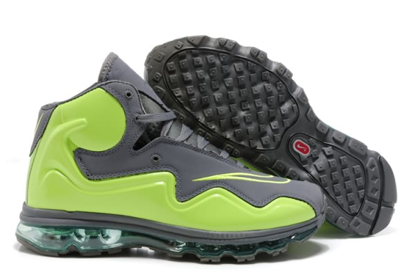 Nike Air Max Flyposite gray/Vert Chaussures