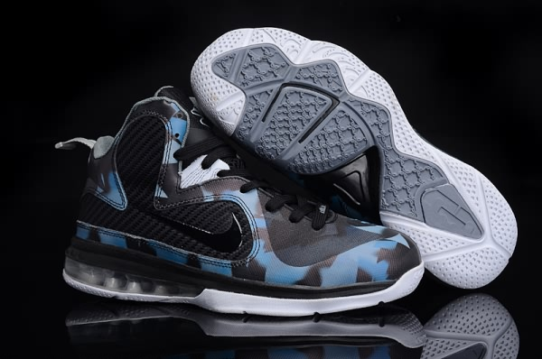 quality design c764d 60441 Nike Air Max LeBron James 9 Chaussures de basket NoirBleu RoyalBlanc  Nike03278 - €72.00  Air Max, Nike Site Officiel