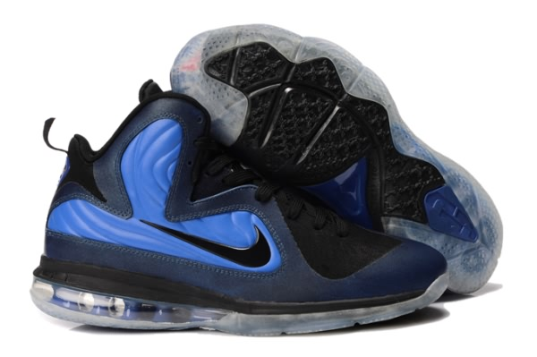 Nike Air Max LeBron James DarkBleu 9 Chaussures de basket/bleu/noir