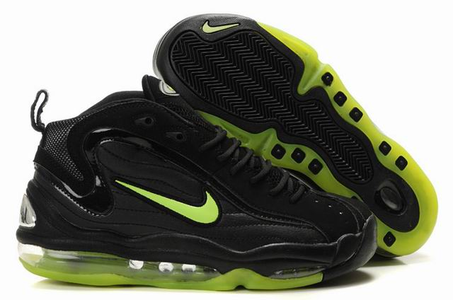 Chaussures Nike Air Max Total hommes Uptempo noir/vert