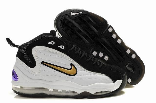 Chaussures Nike Air Total Max Uptempo blanc/or/noir homme