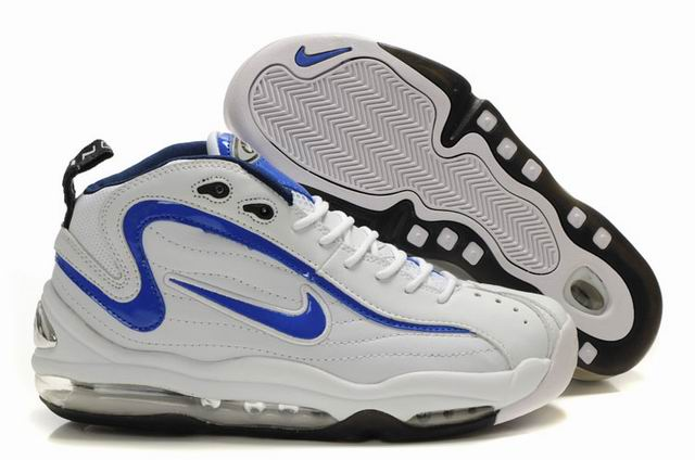 Chaussures Nike Air Total Max Uptempo Blanc/Bleu Royal Hommes