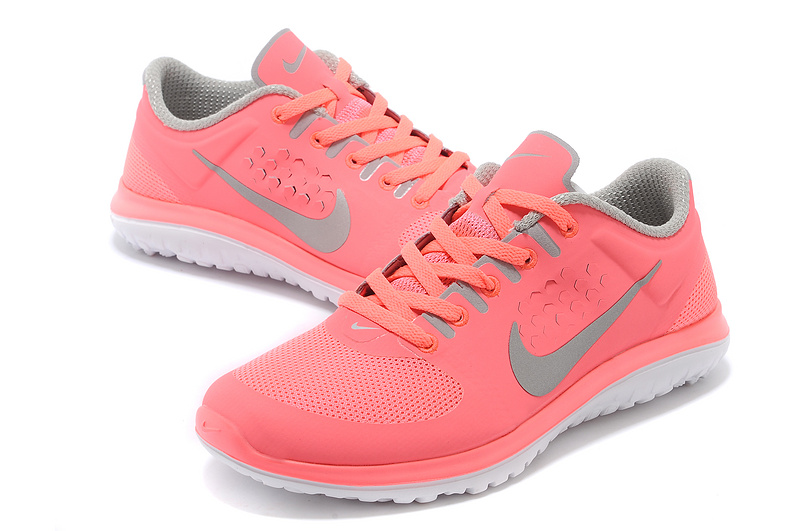 half price clearance prices look for Nike Run Lite FS 2014 femmes Rose clair Gris [Nike00202 ...