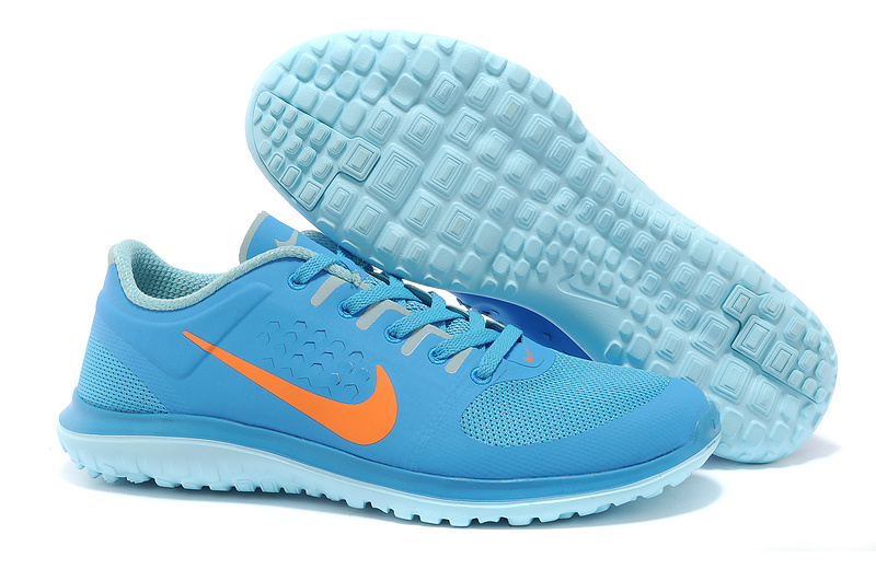 the best attitude e74eb 0be71 Nike Free Run 5.0 V3 2014 Hommes Bleu Ciel KDLP0094