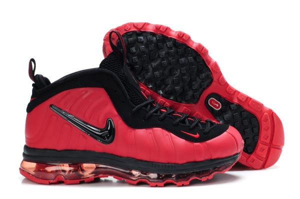 Nike Penny Hardaway + Air Max 2009 Chaussures Rouge/Noir