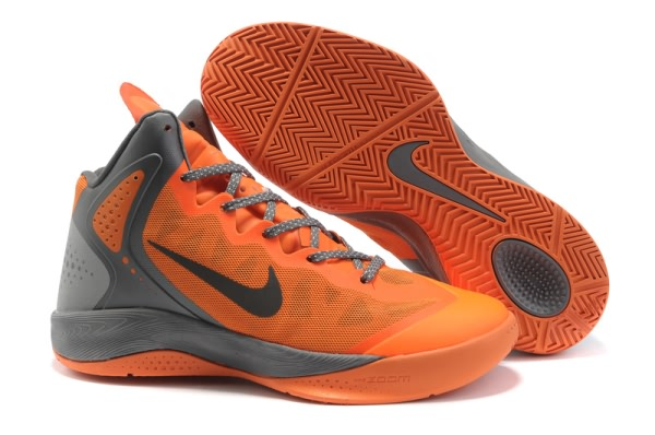 Nike Zoom Hyper force PE 2012 Blake Griffin Chaussures Basketball gray/Orange