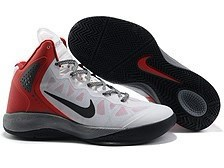 Nike Zoom Hyperforce PE Blake Griffin 2012 Chaussures de basket-Blanc/Noir/Rouge