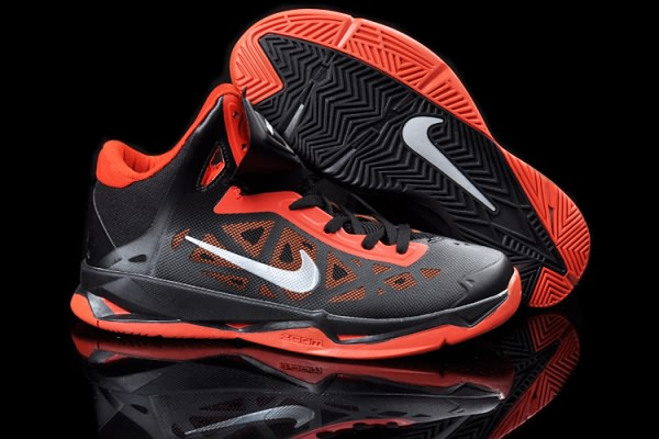 Nike Zoom Hyperchaos X 10 LeBron James Noir/Orange formation Chaussures