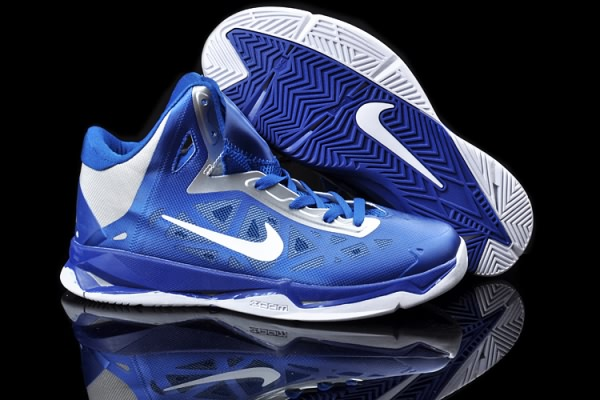 Nike Zoom Hyperchaos X 10 LeBron James Bleu Royal/Argent formation Chaussures