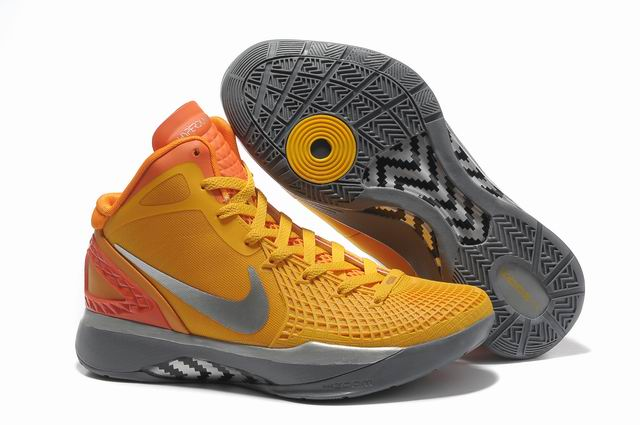 Nike Zoom Hyperdunk 2011 Blake Griffin II Chaussures de basket orange/Argent