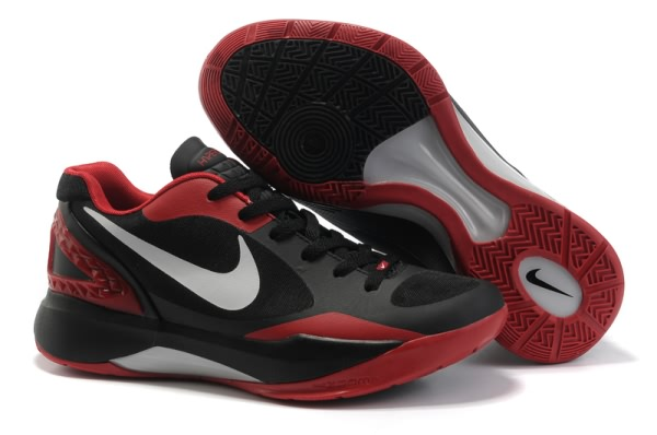 Nike Zoom Hyperdunk Low Blake Griffin Chaussures Basketball Noir/Rouge
