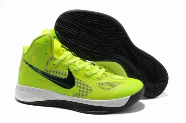 Nike Zoom Hyperfuse 2012 Chaussures fluorescence verte