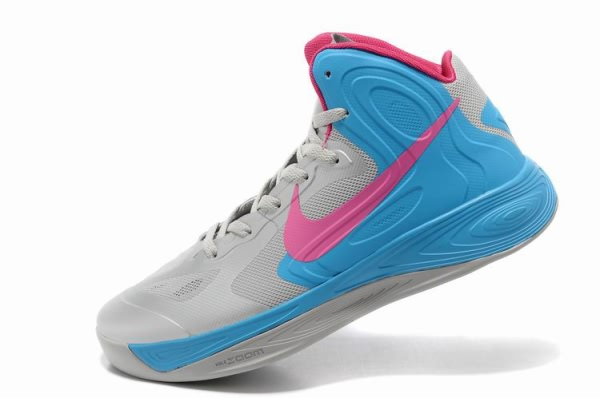 Nike Zoom Hyperfuse 2012 Chaussures gray/rose