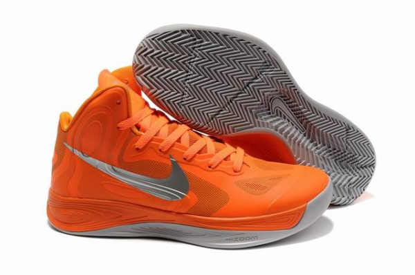 Nike Zoom Hyperfuse 2012 Chaussures orange/gray