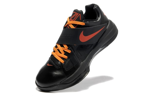 Chaussures basket Nike Zoom Kevin Durant KD IV X Noir/Orange