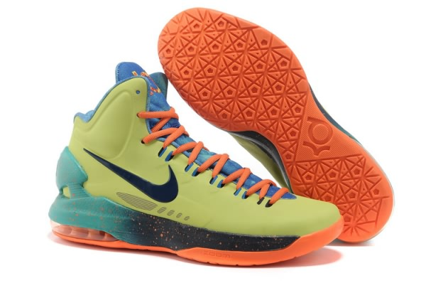 Chaussures Basketball Nike Zoom Kevin Durant KD V All-Star orange/noir