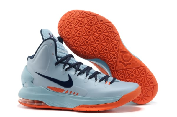 Chaussures Basket-ball Light Nike Zoom Kevin Durant KD V gray/Marine/Orange