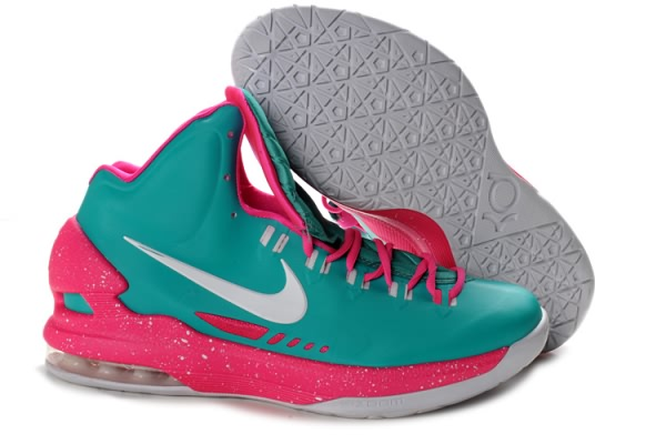 Chaussures Basketball Nike Zoom Kevin Durant KD V Lune/Rose