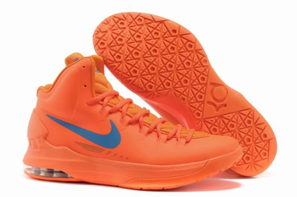 Chaussures Basket-ball Nike Zoom Kevin Durant KD V orange/bleu