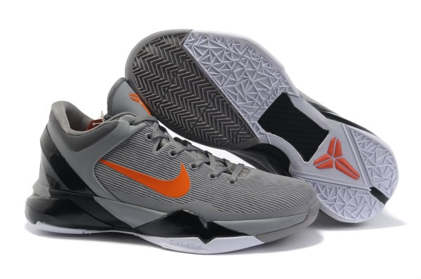 Nike Zoom Kobe VII Chaussures de basket-ball gray/Rouge