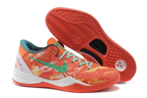 Nike Zoom Kobe VIII 8 All-Star Red Green Basketball Chaussure-q3