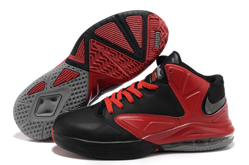 Nike Zoom LeBron James ambassadeur Noir/Red Chaussures V