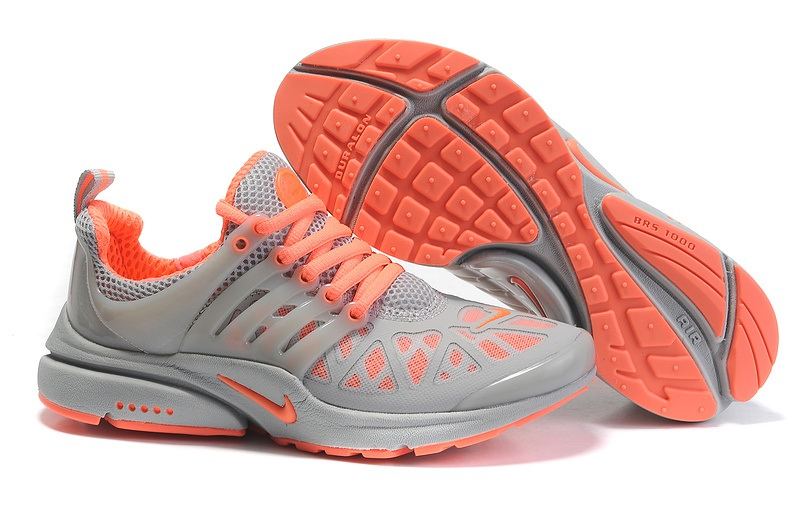 Nike Air Presto 3 Femme gray Orange