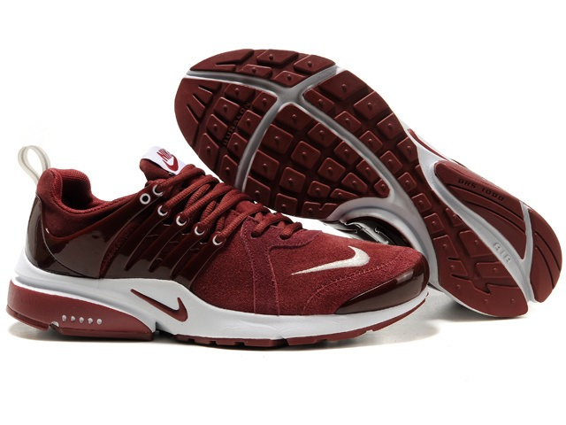 Nike Air Presto Anti Fourrure Hommes Deep Red