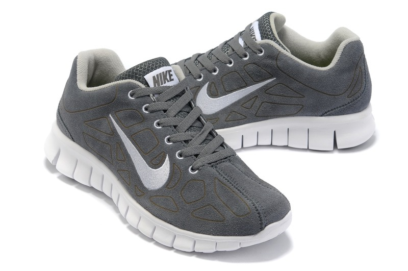 Nike Free 3.0 Hommes gray Neutre Chaussures blanches